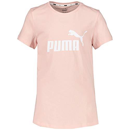PUMA Mädchen ESS Tee G Kurzärmeliges T-Shirt, Rosa, 140