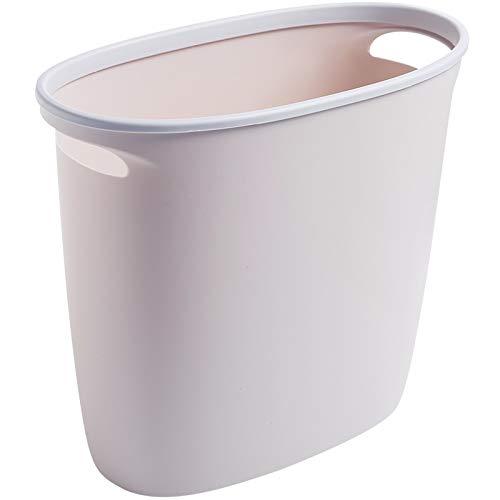 hhxiao Prullenbak Ring-persen Sorteren Smalle Prullenbak Plastic Woonkamer Mand Huishoudelijke Keuken Toilet Gap Prullenbak