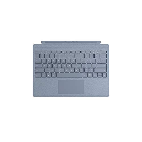 Microsoft Teclado Signature Type Cover para Surface Pro - Compatible Surface Pro 3/4/5/6/7 Azul Glaciar