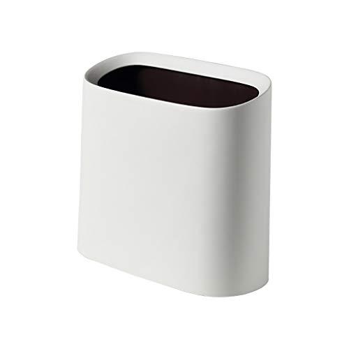 Poubelle- Poubelle sans couvercle, seau intérieur amovible Couvercle silencieux à couvercle poubelle pour la malbouffe