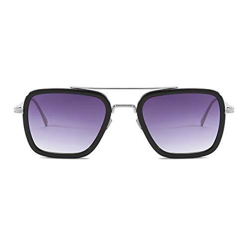 Ballylelly Película con Las mismas Gafas de Sol Caja Americana con Las mismas Gafas de Sol Gafas de Tendencia Masculina