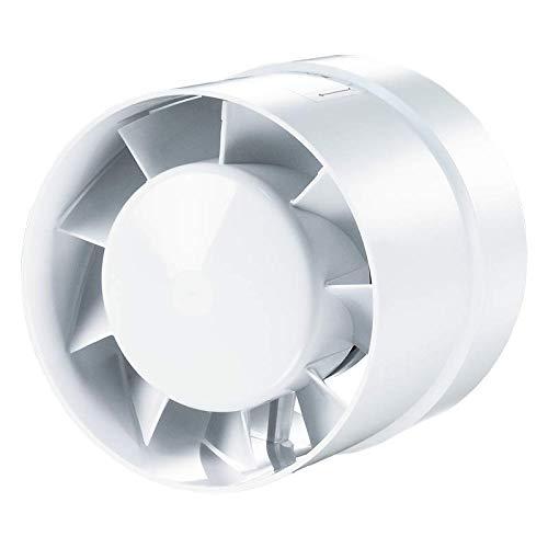 VKO 12 V/Turbo/L Axialer Rohrlüfter Ventilator Badlüfter Hochleistungsmotor Kugellagermotor Sicherheitsspannung 100/125 / 150 mm (VKO 12 V)