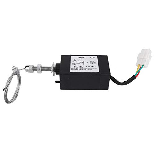 Válvula solenoide de motor Disel, CC 12 / 24V XHQ-PT Válvula solenoide de motor para diferentes tipos de motores diesel(12V)