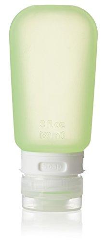 Humangear Go Toob Liquid Reise Flaschen, grün, 89 ml