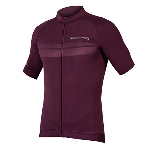 Endura Pro SL Lite Short Sleeve Radfahren Jersey – Leicht Herren Road Bike Top, Herren, Mulberry, XX-Large