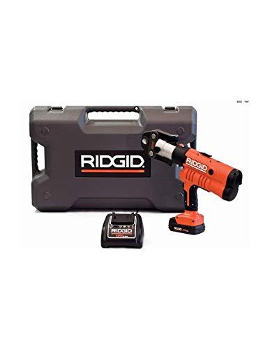 RIDGID 43273 Modelo RP 340-B Selladora Kit, Caja, Batería, Cargador, Mordazas U 16, 18-20mm