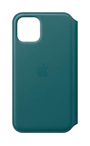 Apple Leder Folio (iPhone 11 Pro) - Pfauenblau