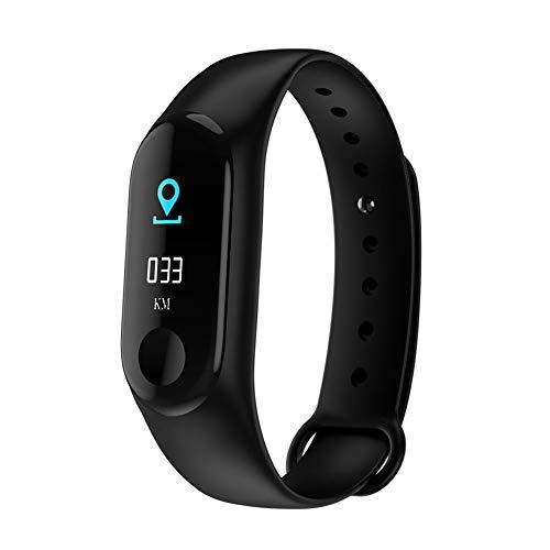 Smartwatches, Sport, Blutdruck, Herzfrequenz Armbanduhr, Fitness-Tracker, Schwarz