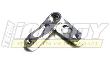 Integy RC Model Hop-ups T8106SILVER Steering Lever II for HPI Wheely King