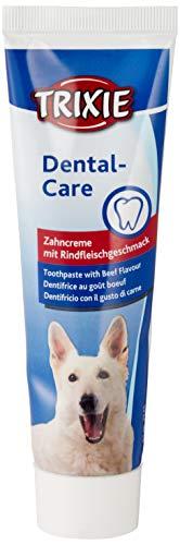 Trixie, 2545, Dentifricio per Cani al Sapore di Carne di Manzo, 100 g