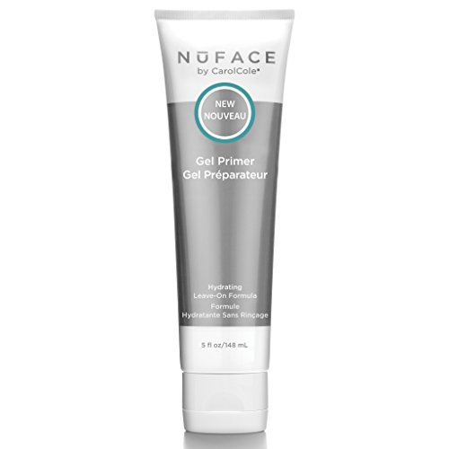 NuFACE Facial Hydrating Leave-On Gel Primer | For Use with NuFACE Devices to Lift Contour Tone Skin + Reduce Look of Wrinkles | FDA-Cleared At-Home System | 5 Fl Oz