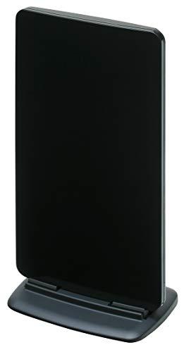 マスプロ電工家庭用UHF卓上アンテナブースター内蔵型ブラックUTA2B(BK)