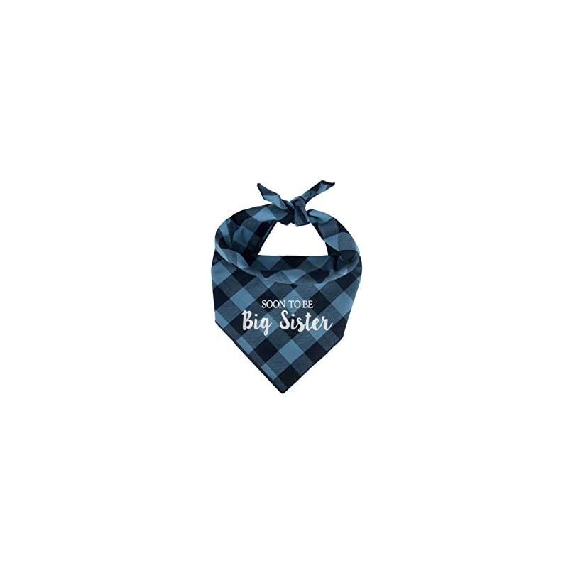 dog supplies online willowear dog bandanas soon to be big sister blue large