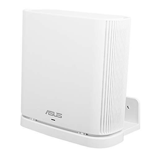 Huafly BECEMURU Wandhalterung Ständer Halter, Stabilität ABS Wandhalterung Schutzhalter Ständer Router Guard für ASUS ZenWiFi AC/AX Whole-Home Tri-Band Mesh WiFi 6 System (CT8/XT8) (weiß, 1 Stück)