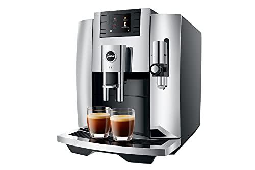 Jura E8 (NAA) Automatic Espresso Machine - (2021 Release) (Chrome)
