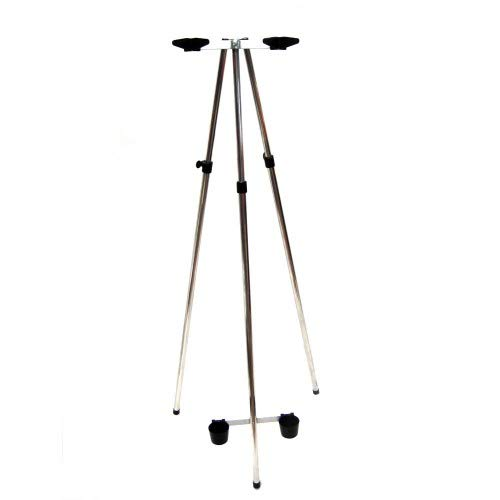 Parker Angling 2 rod 3-5ft fishing tripod with V Secure rests