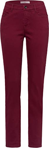 BRAX Damen Style Mary Simply Brilliant Colors Five Pocket Slim Fit Sportiv Jeans, Cranberry 95, 29W / 32L (Herstellergröße: 38)
