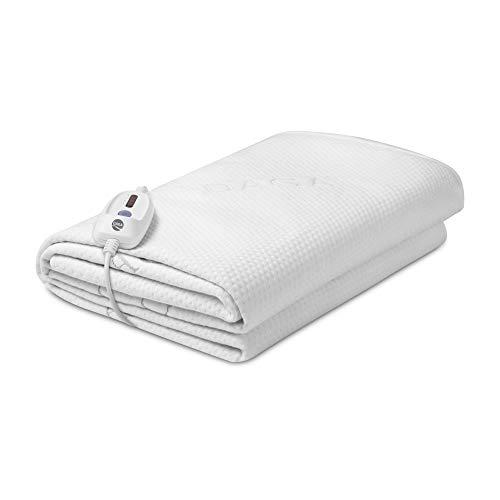 DAGA, tejido suave Calientacamas eléctrica Flexy Heat CIN PROTECT, blanco, 190x90