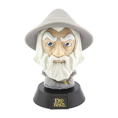 Paladone Lord of Rings Gandalf 3D Icon Light BDP | Producto Oficial de J. R. Tolkien