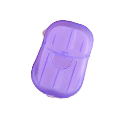 sunzhenhao tragbare Entsorgung aus Papier, Seife, Parfüm, Seife, Seife, Seife violett
