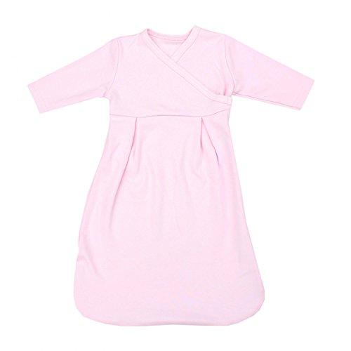 TupTam Baby Unisex Langarm Innenschlafsack, Farbe: Rosa, Größe: 50-56