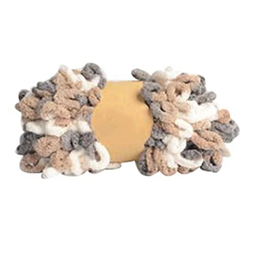 Hilado de hilo grueso Hilo de crochet 100 g de hilo de algodón de 23 pies para tejer 3 o 6 rollos...
