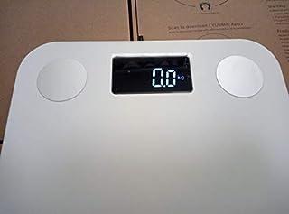 Báscula Baño inteligente Mini báscula Digital Báscula de peso de grasa corporal Balance corporal Básculas de pesaje humano Balance de piso Conectar regalo Báscula de Baño
