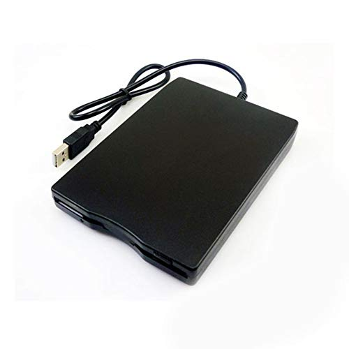 N/V Externes Diskettenlaufwerk (1,44 MB, 8,9 cm (3,5 Zoll), USB, tragbares Diskettenlaufwerk für Laptop / Desktop / PC