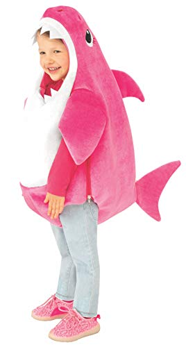 Rubie's Kids' Toddler Mommy Shark Costume With Sound Chip, As Shown