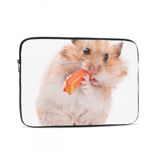 Mac Cover Cute Little Hamster Eating Case MacBook Air 13 Multi-Color & Size Choices10/12/13/15/17 Inch Computer Tablet Briefcase Carrying Bag