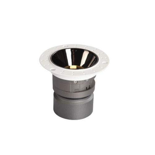 HSCW LED Downlight Focos de techo, 5W / 7W / 12W Ahorro de energía Embedded Spotlamp Foco sin bordes Luz de techo de aluminio Interior comercial Interior de la iluminación decorativa Downlights [Clase