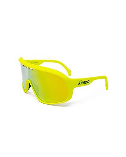 Kimoa - Lab Gafas, Amarillo fluorescente, Normal Unisex Adulto