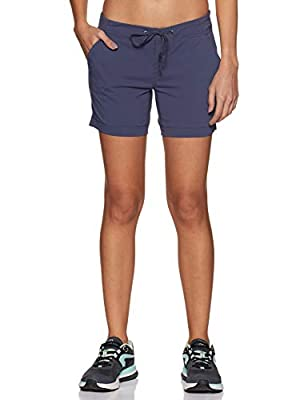 Columbia Women's Anytime Outdoor Short, Nocturnal, 8x5
