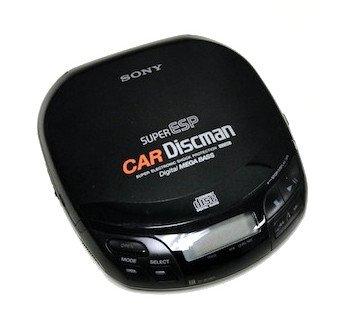 Sony D-838K Car Discman CD Player