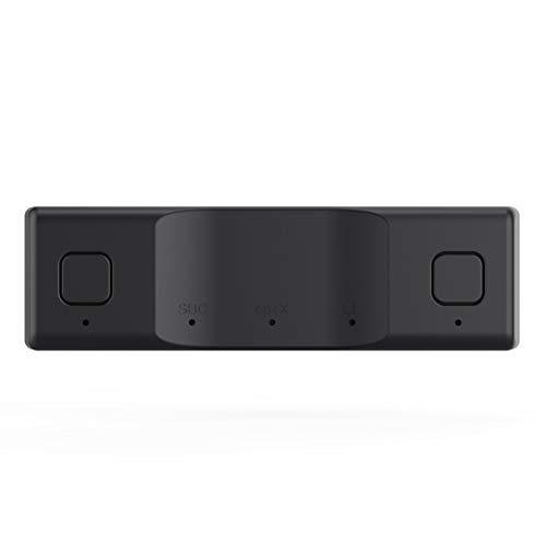 Hangarone Geeignet für Spielekonsole Bluetooth-Sender Bluetooth-Audio-Ausgangssender eins zu Zwei, drahtlosen Kopfhörer/Lautsprecher anschließen