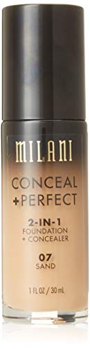 MILANI Conceal + Perfect 2-In-1 Foundation + Concealer - Sand