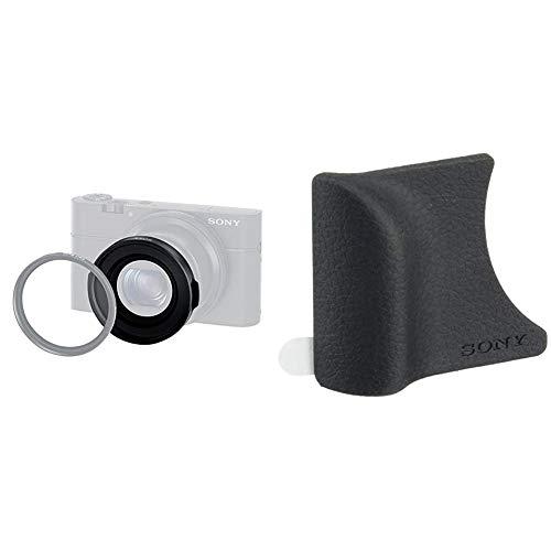 Sony VFA-49R1 Adattatore per Filtro da 49 mm MC, Nero & AGR2 Impugnatura per DSC-RX100, DSC-RX100M2, DSC-RX100M3, DSC-RX100M4