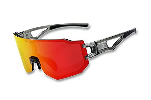 Unisex a prueba de viento ciclismo gafas polarizadas gafas de sol de ciclismo gafas de sol de pesca mujeres corriendo gafas de sol deportes al aire libre uv protección gafas de sol
