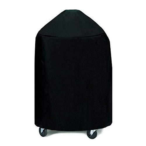 Huolirong Funda Protectora para Muebles Cubierta De La Parrilla De Barbacoa Poliéster Funda Impermeable Cubo,Negro Muebles De Jardín Funda (Color : Black, Size : 70x70 cm)