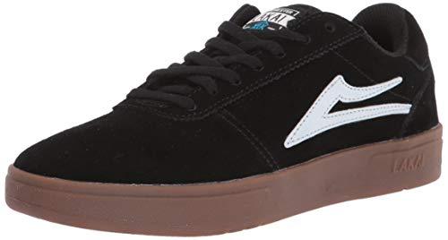 Lakai Limited Calzado para hombre Manchester XLK Skate Zapatilla, Negro (negro/ante (Black/Gum...