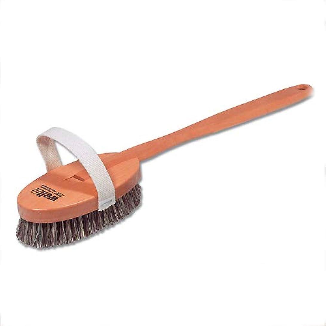 容量ロゴ構成Redecker レデッカー ボディブラシ(ミディアムハード 馬毛と植物毛の混毛植毛) 正規品