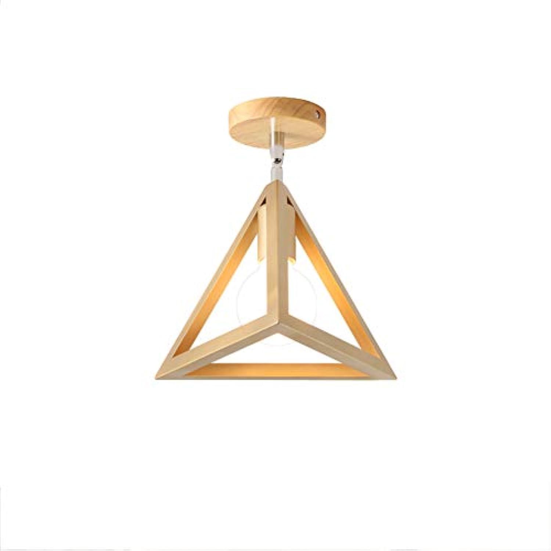 CUICANH Moderner Metal Deckenleuchten,Nordische Einfache Holz Verstellbarer lampe head E27 Eisen Japanischer stil Deckenlampe Für Flur Balkon Gang-A-Gold 25  25cm(10x10inch)