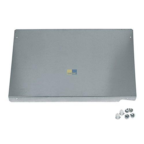Bosch Siemens 00472560 472560 ORIGINAL Geräteabdeckblech Unterbauzubehör Metallplatte Platte WMZ2420 CZ20330 CZ20340 WZ10190 WZ20330 Waschmaschine