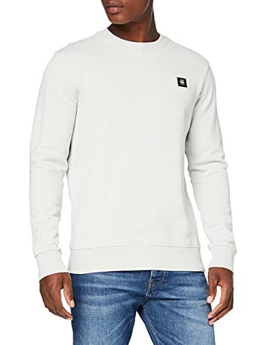 G-STAR RAW Mens Logo Badge Sweatshirt, Gum B782-803, L