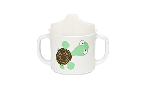 Lässig LDISHCS190 2-Handle Sippy Cup with Lid & Silicone Tazza per Imparare a Bere, 6+...