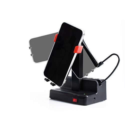 Seltureone Handyschaukel Kompatibel für Pokemon GO Plus Steps Counter Zubehör,Schritte Verdienen Handy Schrittzähler,Automatisch Phone Shaker (kein Magnet, kein Gummiband,Stummschaltung)-Rot