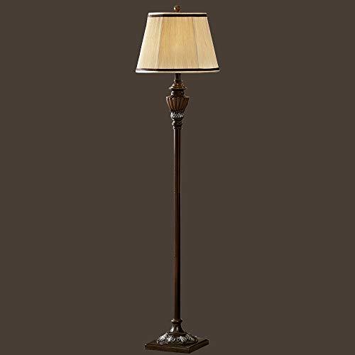 Allamp Piso de madera de luces moderno antiguo de la sala de estar dormitorio de iluminación LED de lujo Resina piso retro Lámpara Iluminación for el hogar Utilizado en sala de estar, dormitorio, cabe
