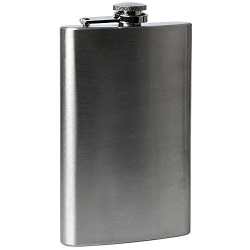 1 4 5 6 7 8 9 10 18 oz Hip Flask RVS Pocket Drink Whisky Flasks TOP (10OZ.)