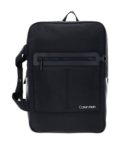 Calvin Klein Convertible Backpack With Pocket Black