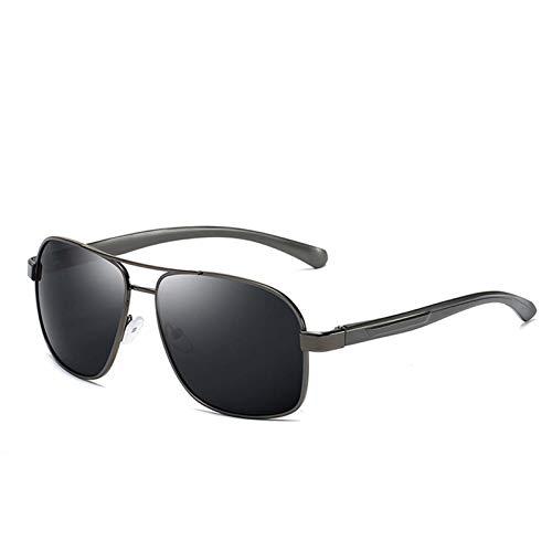 AMFG Gafas de sol polarizadas Magnesum de aluminio para hombres Magnesio polarizado personalizado Espejo de manejo clásico para hombres Classic Gafas de pesca al aire libre (Color : C)